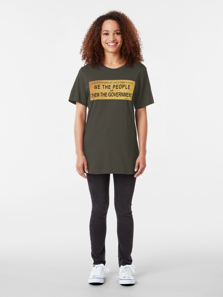 Alternate view of We or Them Slim Fit T-Shirt