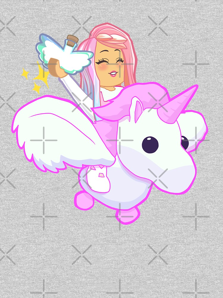 Adopt Me - Pink Flying Unicorn by TheBeatlesArt