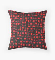My Red Light Special Throw Pillow