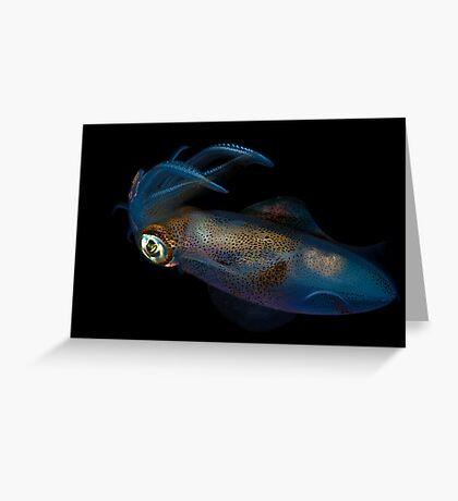 Southern Calamari Squid Greeting Card