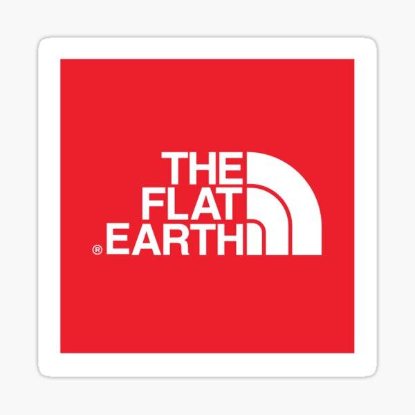 North Pole Parody Logo Sticker