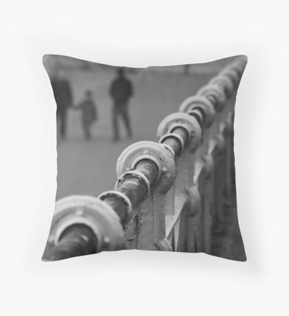 Off The Rails!!! Throw Pillow
