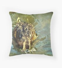 """Under I Go !..."" Throw Pillow"