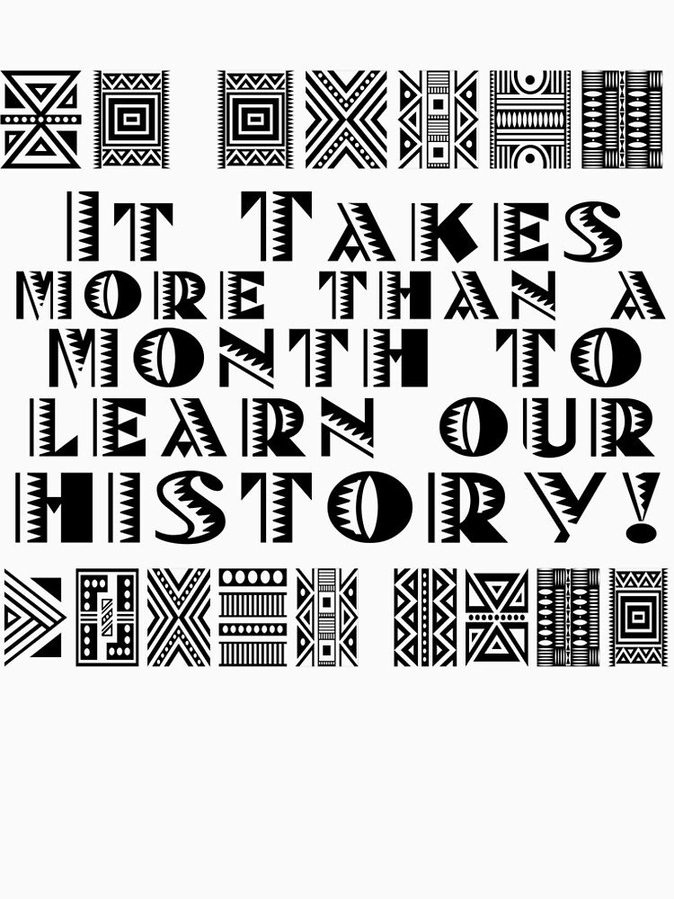 It takes more than a month to learn our history! by Recruitees