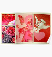 Valentine Collection featured in Collective Collage, Inspired Art & Holidays & Special Occasions Poster