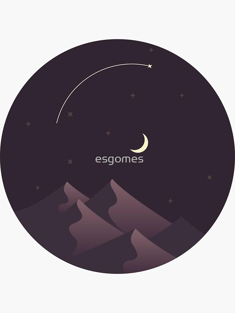 Moonlight at the Desert by esgomes
