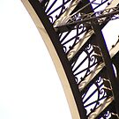 Behind The Eiffel Tower by minikin