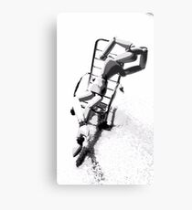 """Silly Seat (4)"" - Laid Back Metal Print"