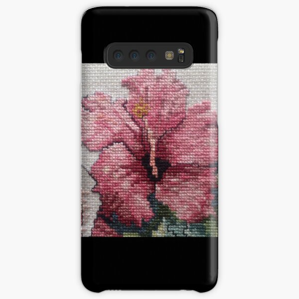 Red Hibiscus Samsung Galaxy Snap Case