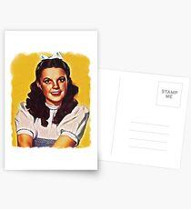 Dorothy Oz Malerei Postkarten