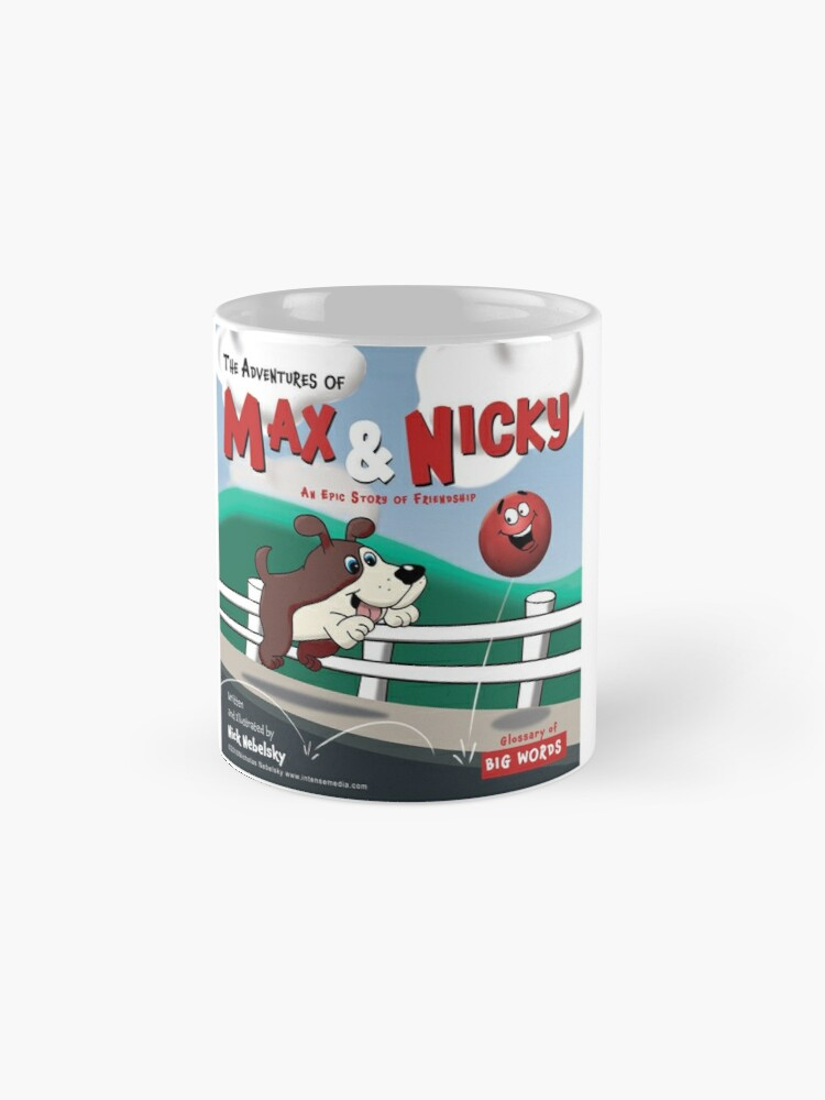 Alternate view of The Adventures of Max & Nicky Picture Book Mug