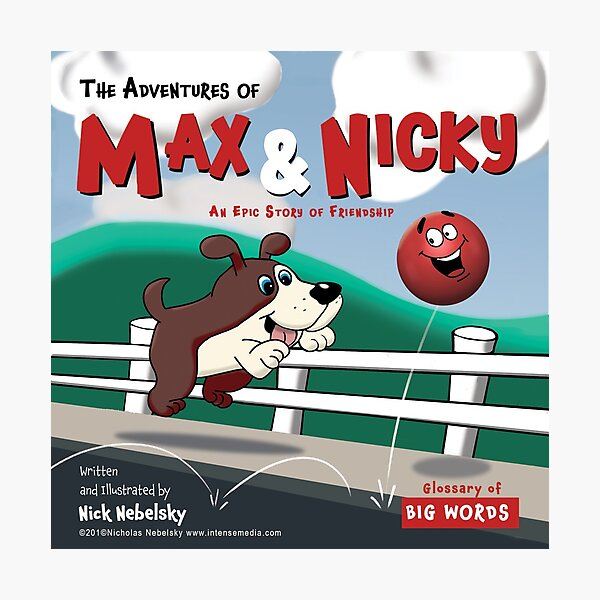 The Adventures of Max & Nicky Picture Book Photographic Print