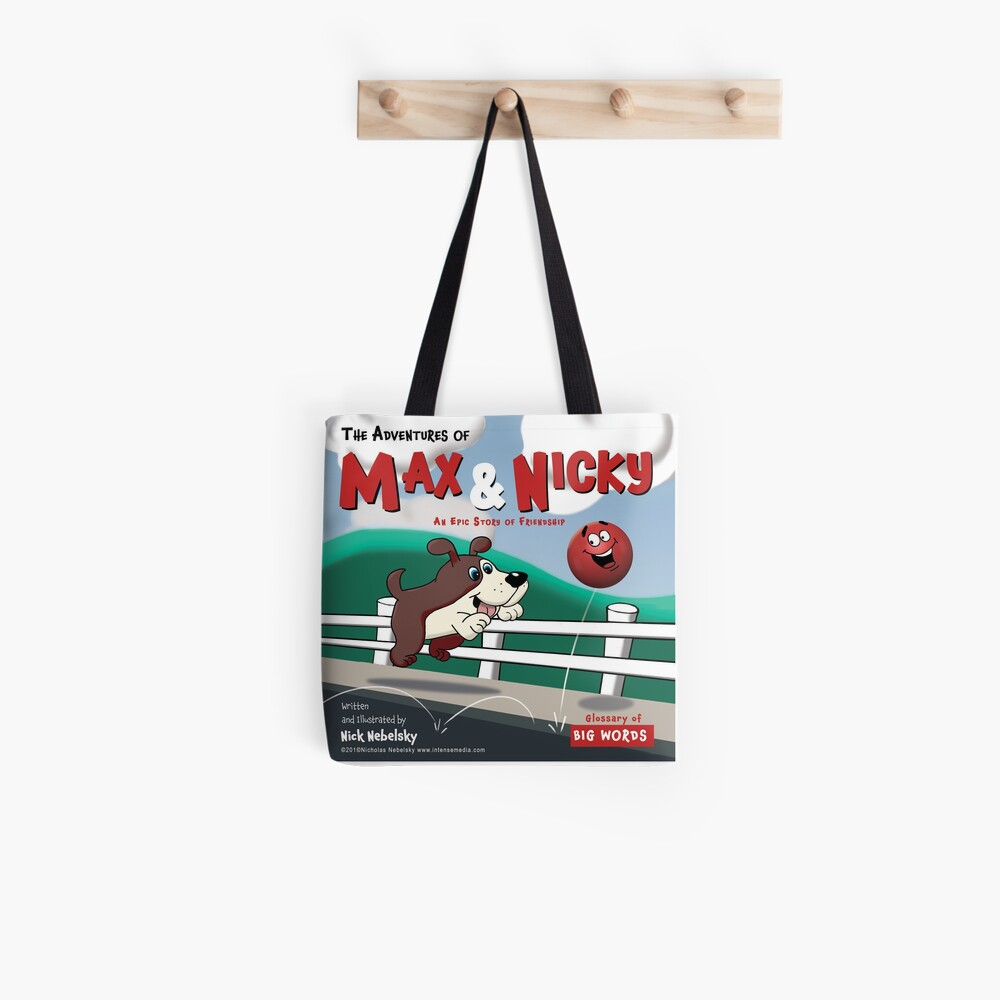 The Adventures of Max & Nicky Picture Book Tote Bag