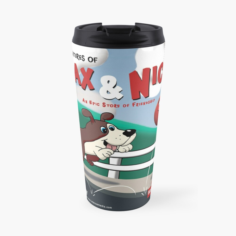 The Adventures of Max & Nicky Picture Book Travel Mug