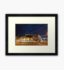 A Local Favourite Closed for the Night! Framed Print