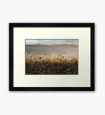 Fast Moving Water Framed Print