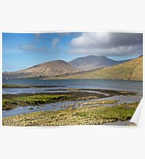 Connemara Rural Photography Landscape from Ireland Poster