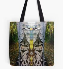 Between the Light  Tote Bag
