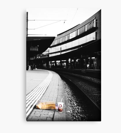 Leftovers Canvas Print
