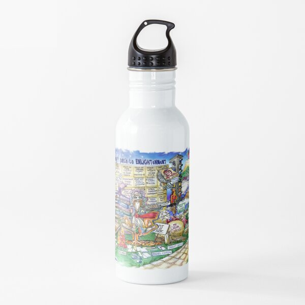 The Monthly Path to Enlightenment Water Bottle