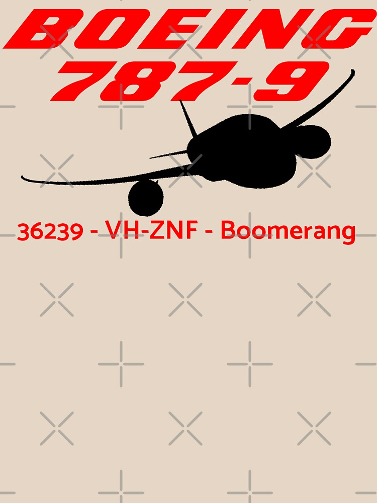 Boeing 787-9 36239 VH-ZNF (Black Print) by AvGeekCentral