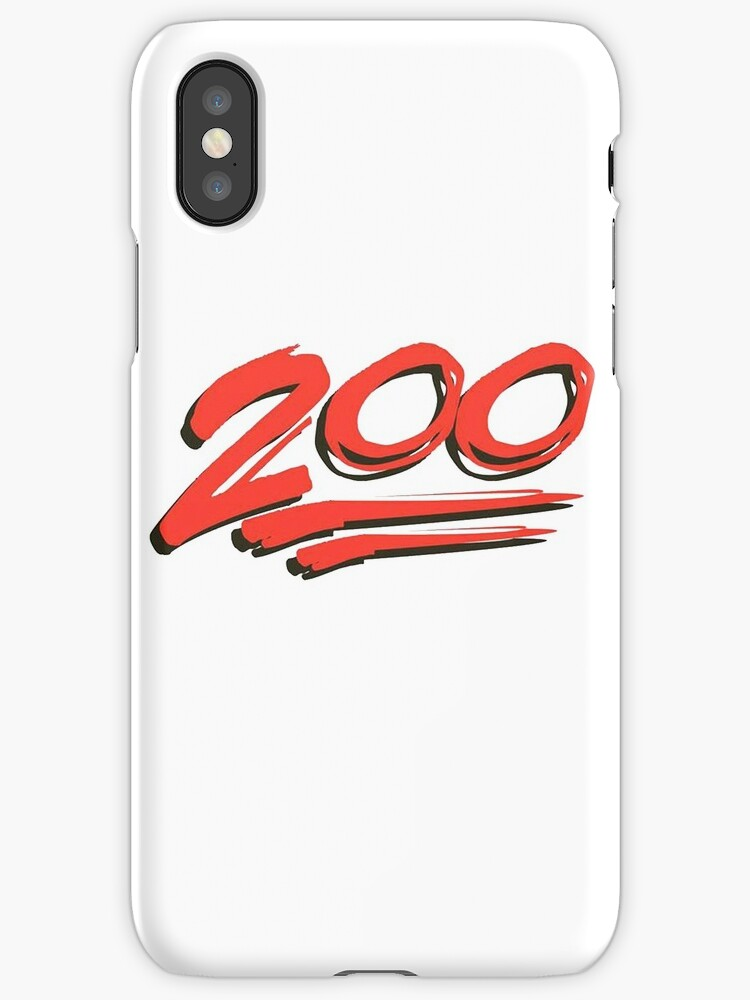 Keep It 200 100 Emoji Iphone Cases Covers By Mynameisjeff