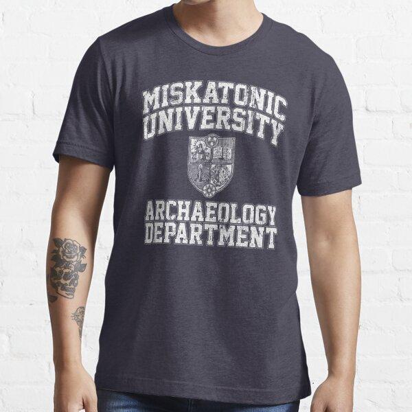 Miskatonic University Archaeology Department Essential T-Shirt