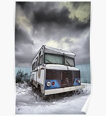 the relinquished resident....(Winnebago, Cherry Street & Front, Toronto, Ontario, Canada) Poster