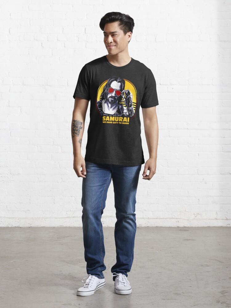 Alternate view of Cyberpunk Essential T-Shirt