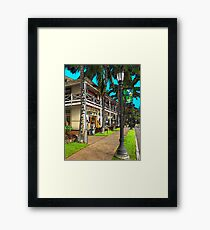 Kailua Village - Kona Hawaii Framed Print