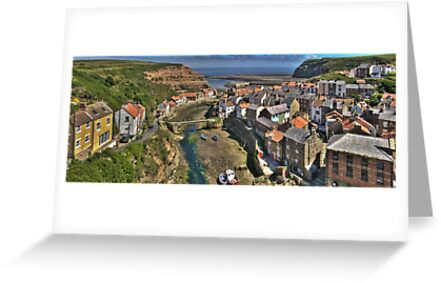 Staithes, North Yorkshire, England by Bob Culshaw
