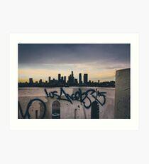 Lámina artística los Angeles