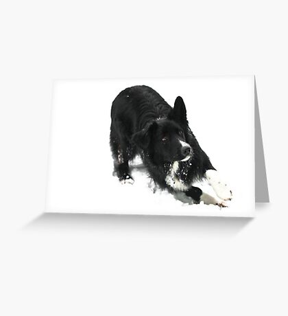 Lean into it Greeting Card