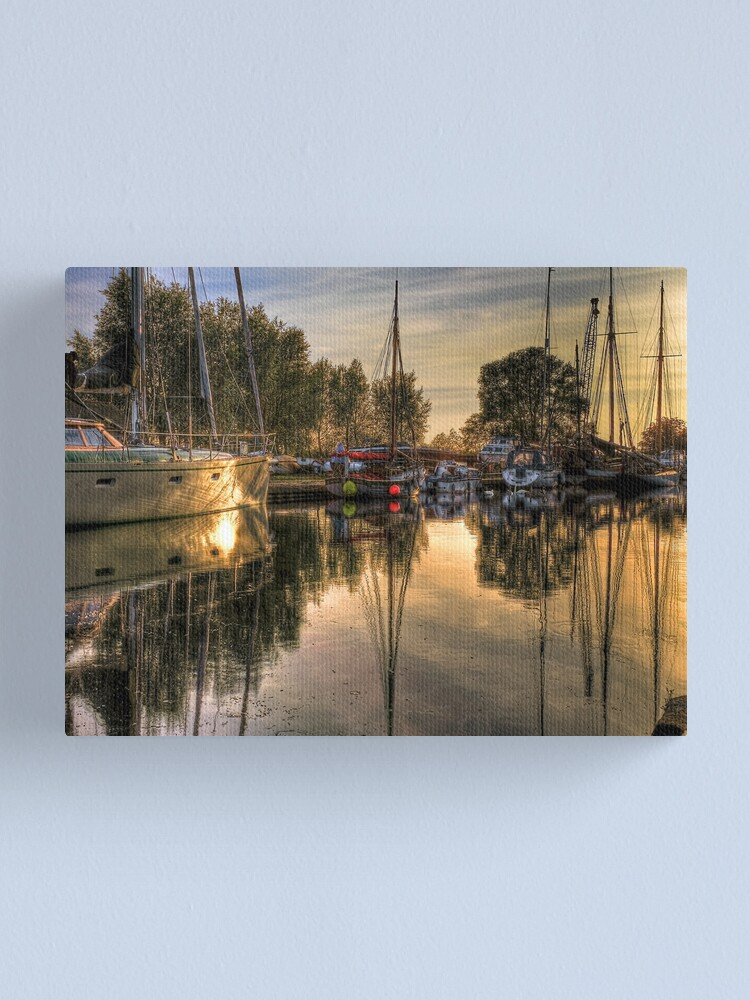 Alternate view of Ship shape Canvas Print