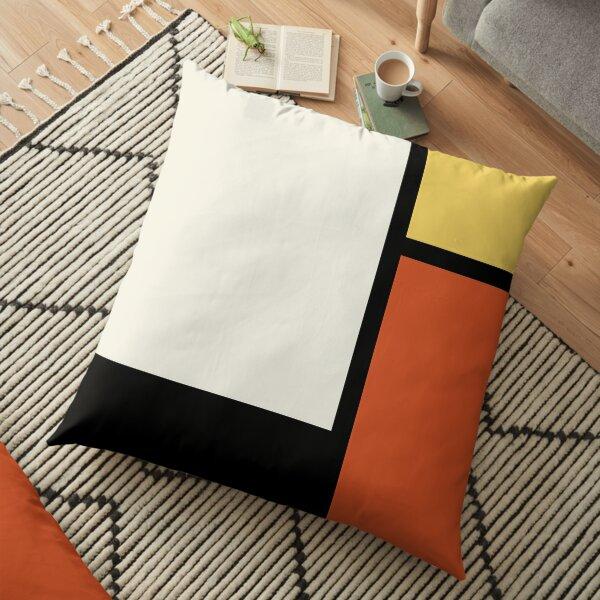 Mod  60s - Mondrian Floor Pillow