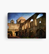 Morning Sun at the Mission Canvas Print