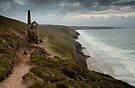 Towanroath Shaft near Porthtowan by Cliff Williams