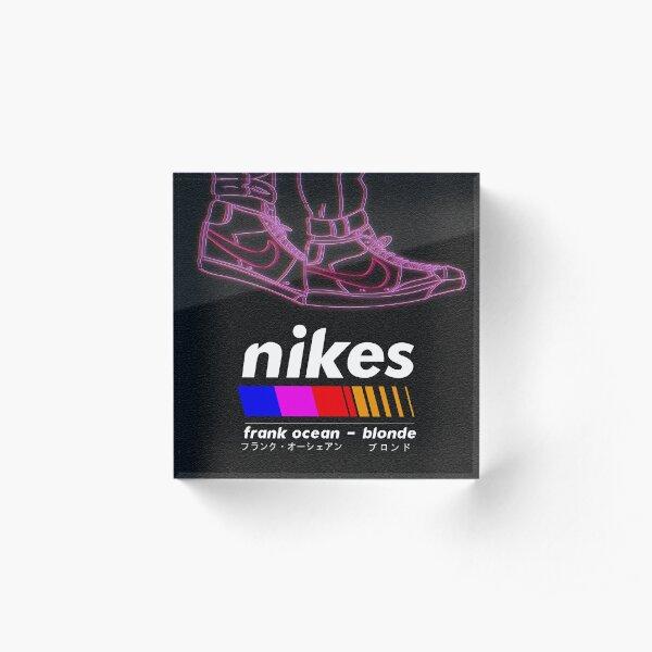 Frank Ocean/Nikes Acrylic Block