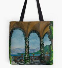 Under The Arches At Villa Balvianella Tote Bag