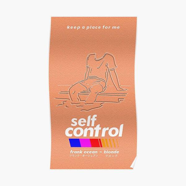 Frank Ocean/Self Control Poster