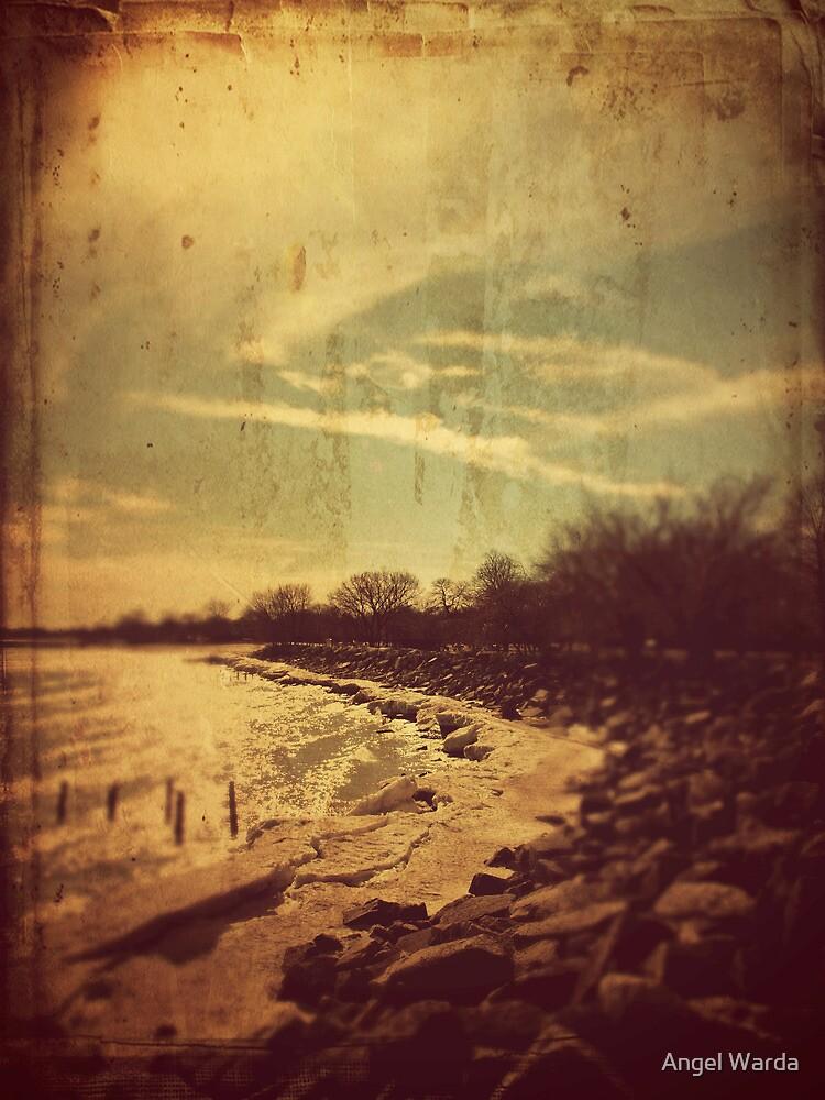 the path along the beach by Angel Warda