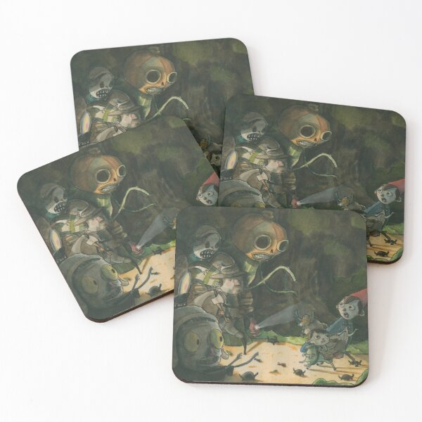 Over the Garden Wall Coasters (Set of 4)