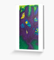 Monsters On My Mind Greeting Card