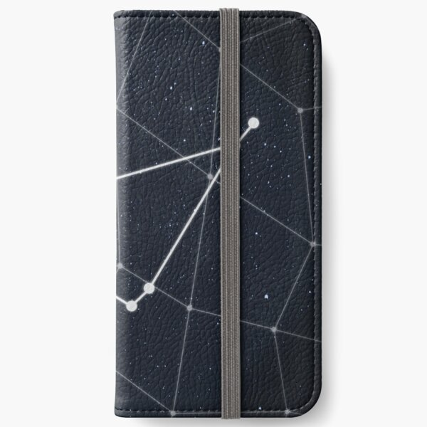 Capricorn Constellation iPhone Wallet