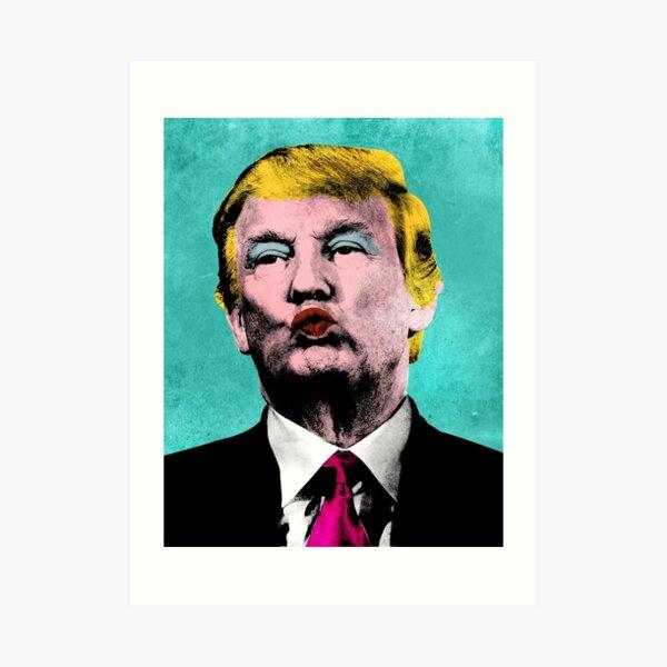 Trump Warhol Art Print