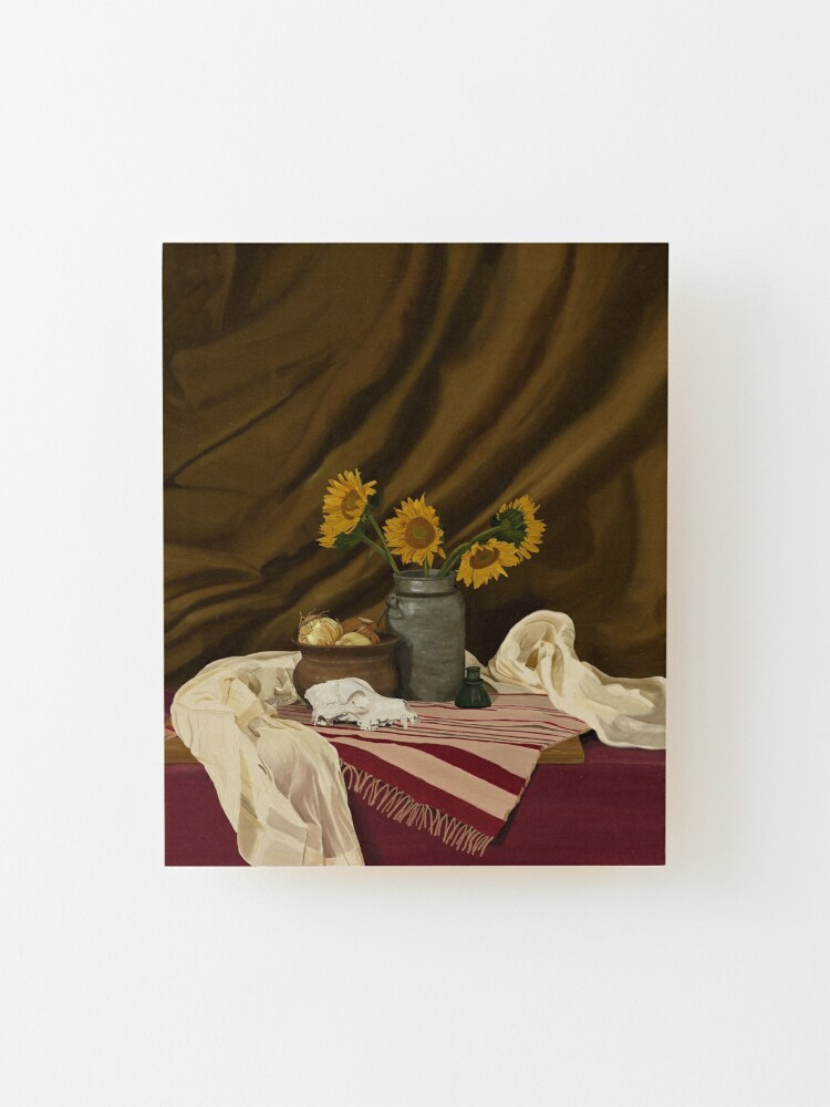 Alternate view of Sunflowers Mounted Print