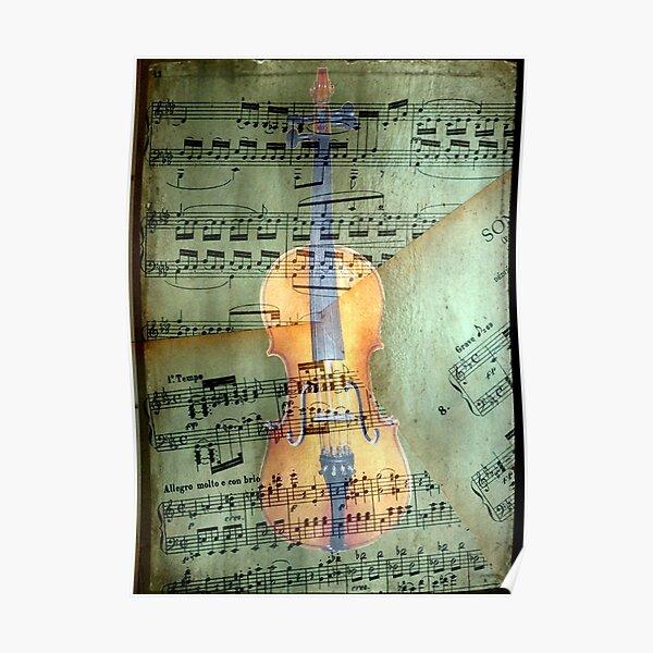 A masterpiece © Allegro molto e con brio Poster