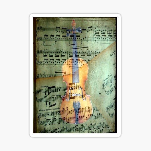A masterpiece © Allegro molto e con brio Sticker