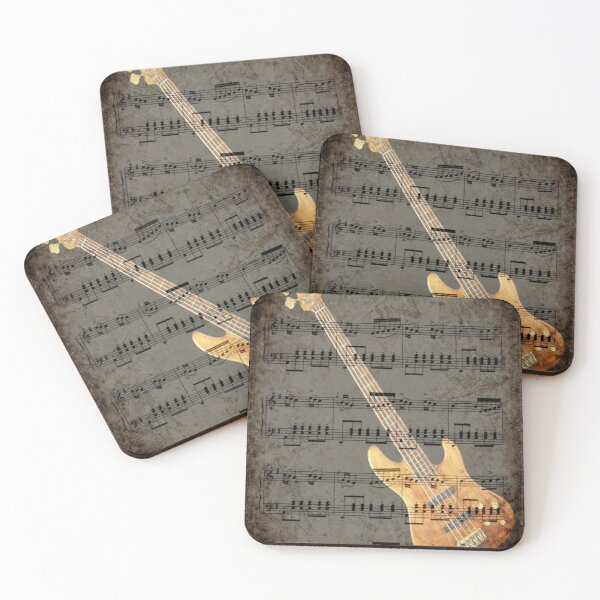 Music soothes the beast... © Coasters (Set of 4)