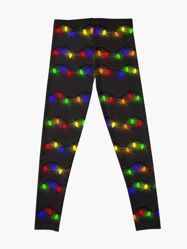 Alternate view of Twinkling Christmas Lights Leggings